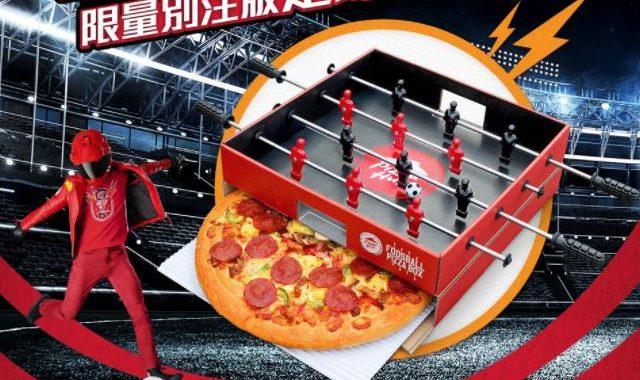 caja de pizza original