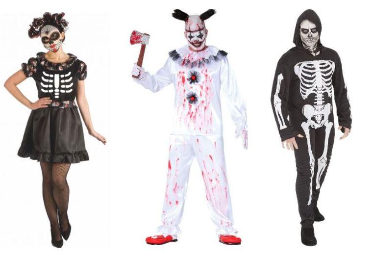 disfraces baratos de halloween