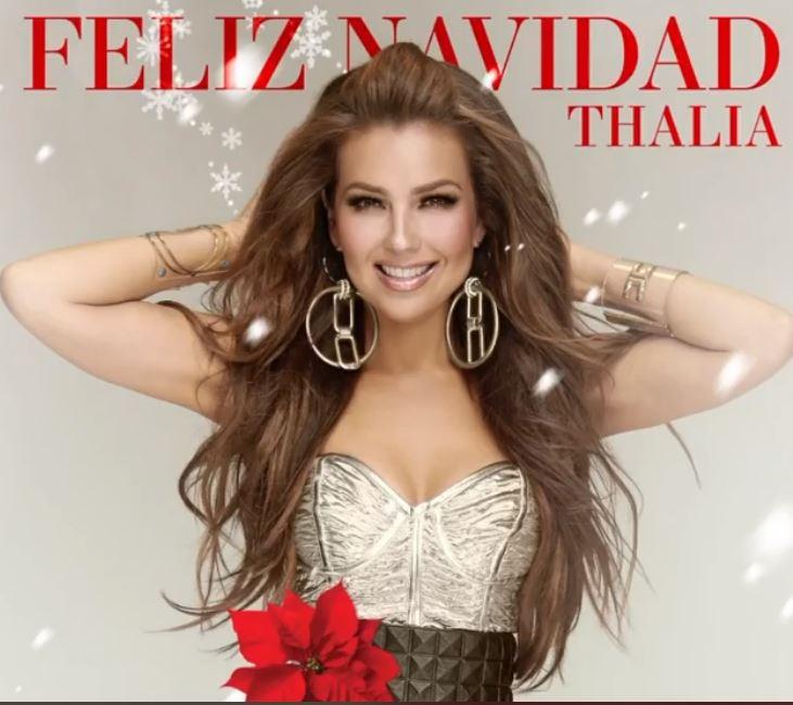 feliz navidad de thalia