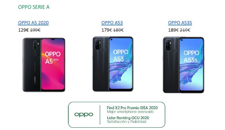 oppo serie a