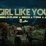 Girl Like You de Dimelo Flow, Sech, Tyga, J.I, un homenaje a Jumanji