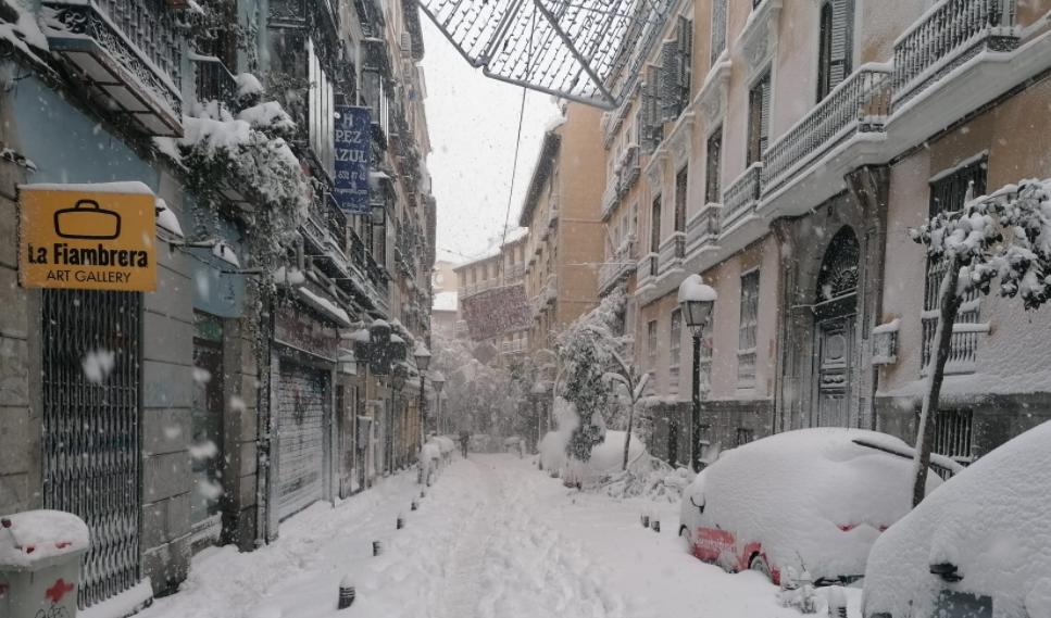 nevada en madrid calle pez