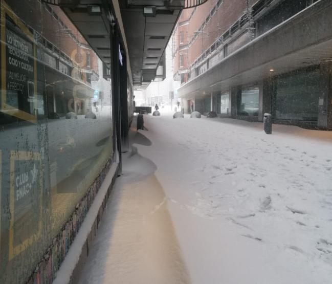 nieve centro