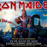 """El concierto de Iron Maiden  en Barcelona """"Legacy of the Beast"""" se pospone al 29 de julio de 2022"""
