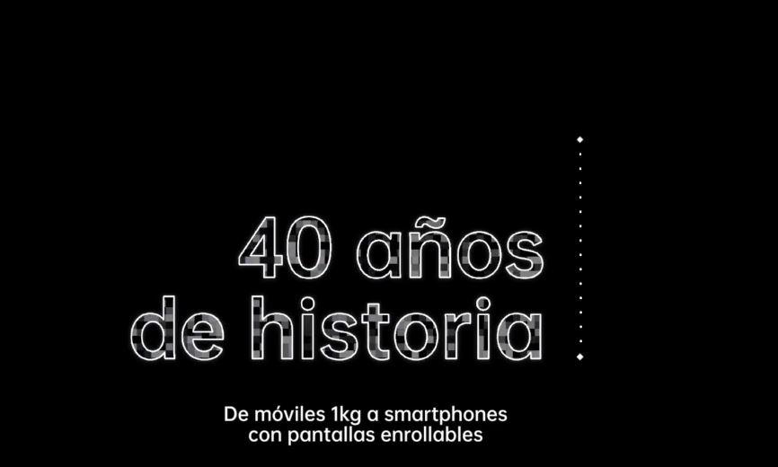 40 años de móviles