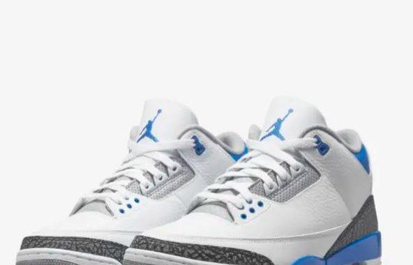 Air Jordan 3 Retro racer blue