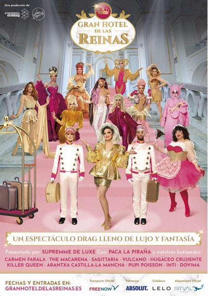 Gran Hotel de las Reinas completo cartel