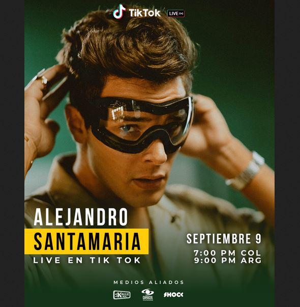 concierto virtual de Alejandro Santamaría