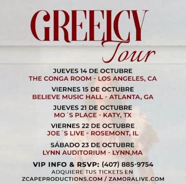 gira de Greeicy